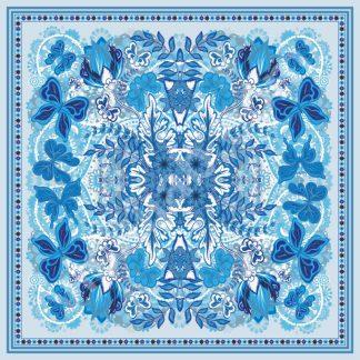 jilbab turki blue