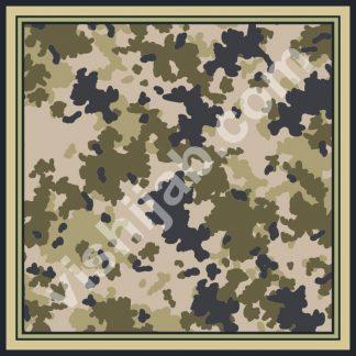 kerudung army brown