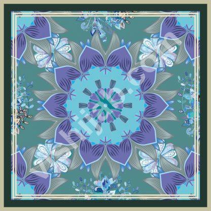 jilbab turkey blue violet