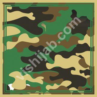 jilbab ijo army yellow green brown