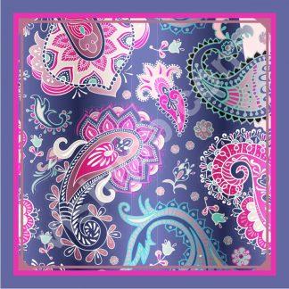 kerudung batik gradient paisley