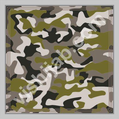 jilbab army camouflage black green gray