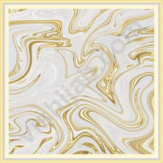 kerudung motif abstrak white gold marble