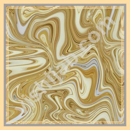 hijab motif abstrak golden gliter marbling