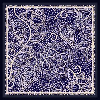 hijab motif batik lace paisley