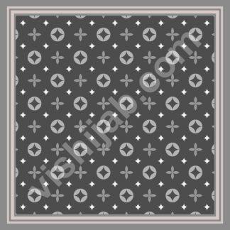 jilbab branded gray