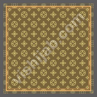 kerudung branded brown yellow