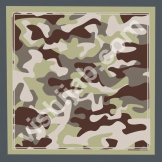 jilbab motif army green gray brown